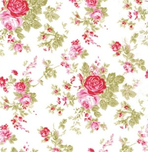 pretty rose fabric