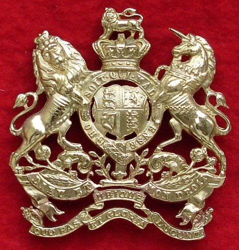 Victorian crown Royal Engineers helmet plate | Rob's Historical Miniatures and related works of