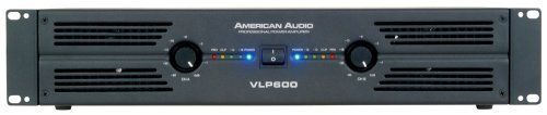 American Audio Vlp600 Amplifier by American Audio. $249.99. professional amplifier, 300w RMS per channel at 4 ohms, 200 w RMS per ch at 8 ohms (bridge mono, 600 w RMS per ch @ 8 ohms