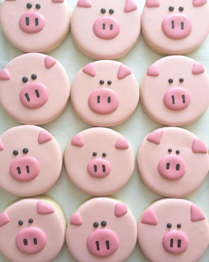 25+ best ideas about Pig Cookies on Pinterest | Farm ...