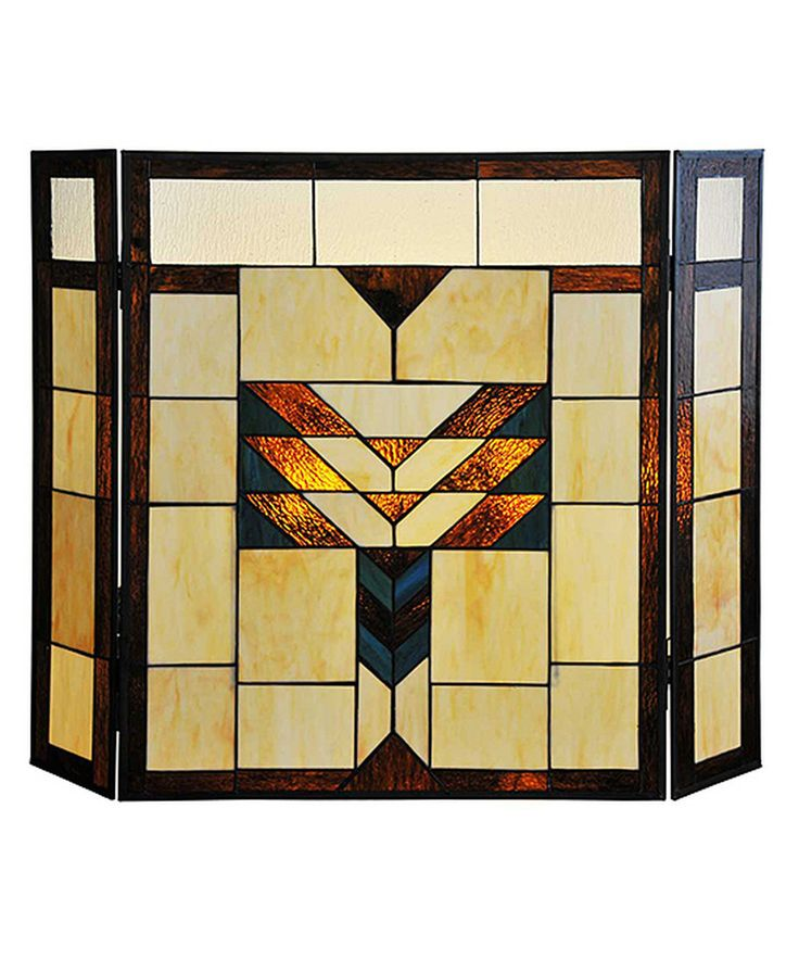 Fireplace Design glass fireplace screen : The 25+ best Stained glass fireplace screen ideas on Pinterest ...