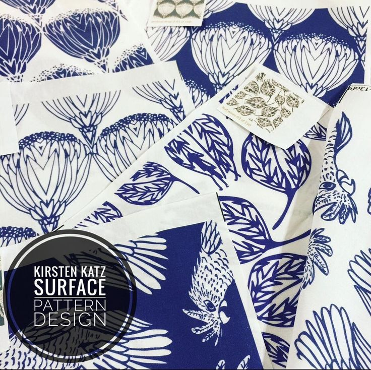 I have been busy designing new work for my 2018/19 collections but in the meantime have a look at these fabric samples #kirstenkatzdesigner #fabricsamples #textiledesigner #printandpatterndesign #surfacedesign #surfacepatterndesign #fabric #handdrawn #newdesigns