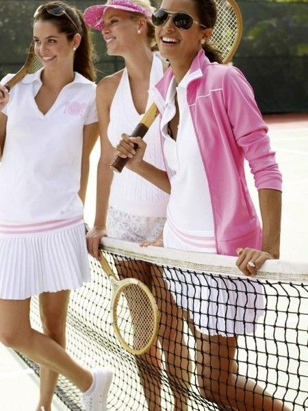 would love a little tennis outfit like the one to the far left
