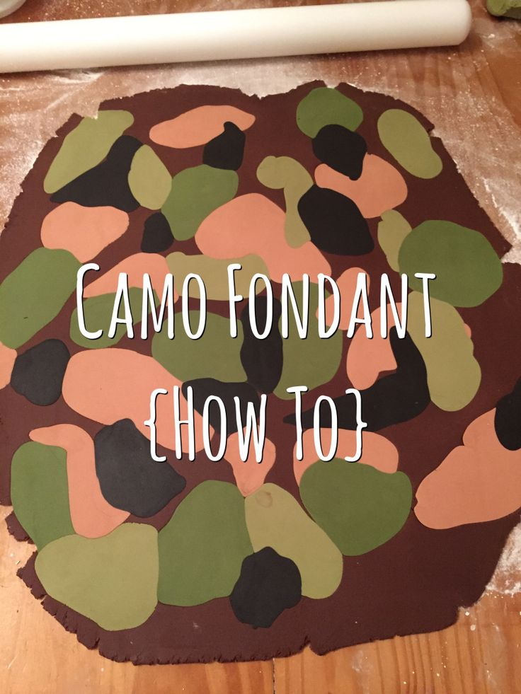 I made this Hunting themed cake for Sunday for my Nephew, and I thought I'd share with you how I made the camo fondant as I struggled to find a tutorial that I liked the end result. &nb…
