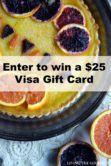 $25 Visa Gift Card Giveaway  Open to: United States Ending on: 04/25/2017 Enter for a chance to win a $25 Visa Gift Card. Enter this Giveaway at Living the Gourmet  Enter the $25 Visa Gift Card Giveaway on Giveaway Promote.