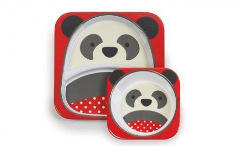 Panda Zoo Tableware Melamine Set by Skip Hop