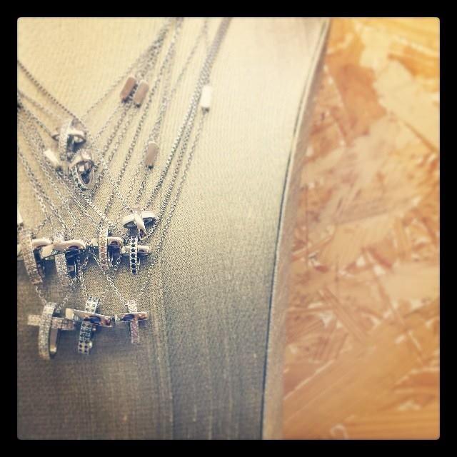 Wear them all together. #BREIL Charming Cross on #Instagram