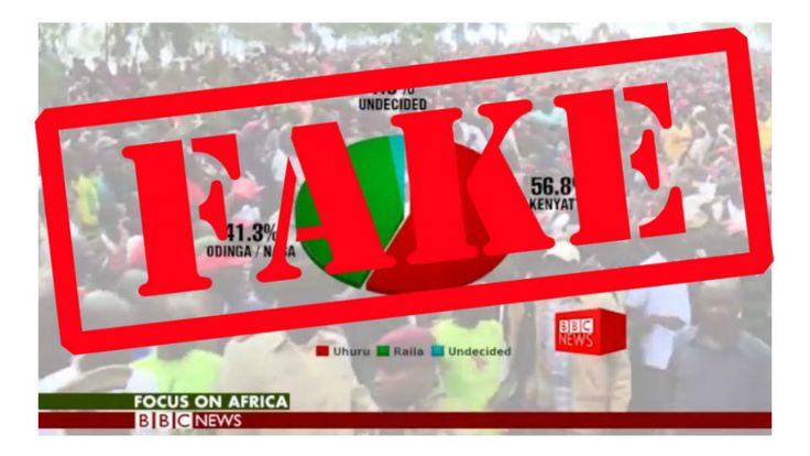 Kenya election: Fake CNN and BBC news reports circulate https://tmbw.news/kenya-election-fake-cnn-and-bbc-news-reports-circulate  A fake news report about Kenya's election that is made to look as if it is from broadcaster CNN has been circulating on social media.It comes after a fake video imitating the BBC's Focus on Africa programme was also distributed on Friday.Both videos had bogus surveys showing President Uhuru Kenyatta leading the polls ahead of August's election.A recent survey…