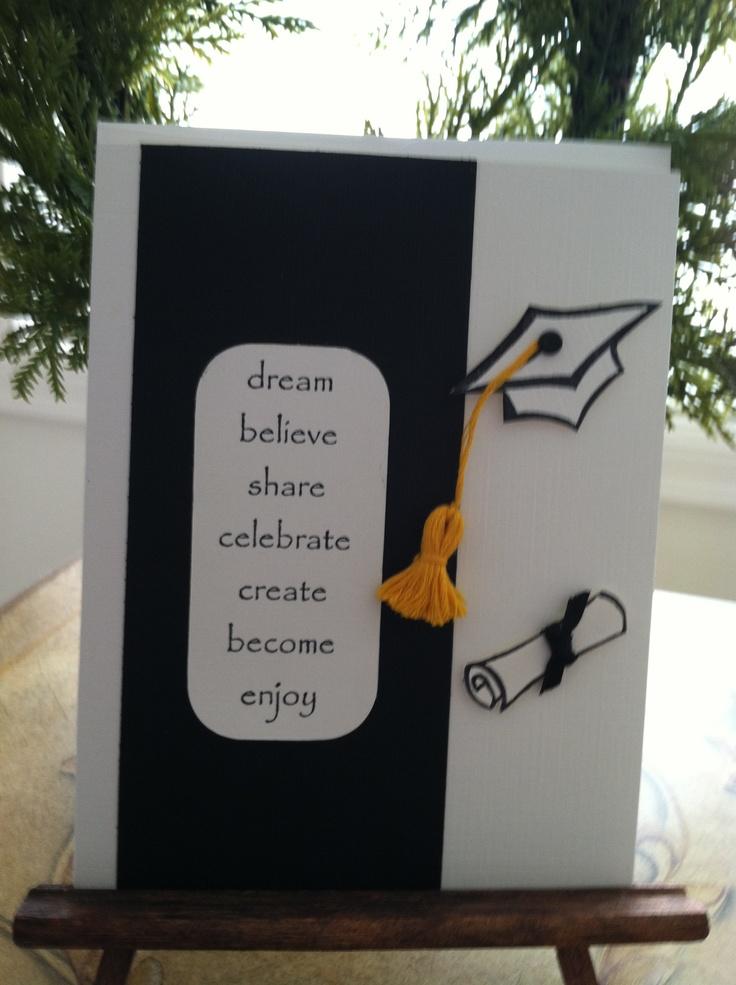 212 best Cards - Graduation images on Pinterest Graduation cards