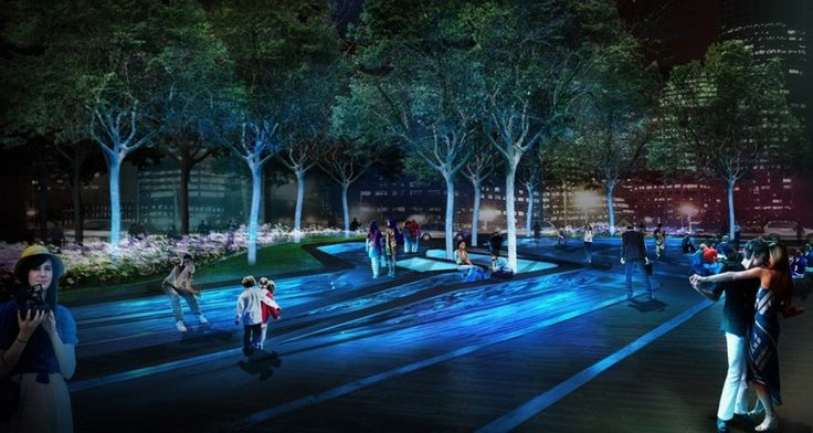Mikyoung Kim Design Pier 4 Plazamikyoung Kim Design