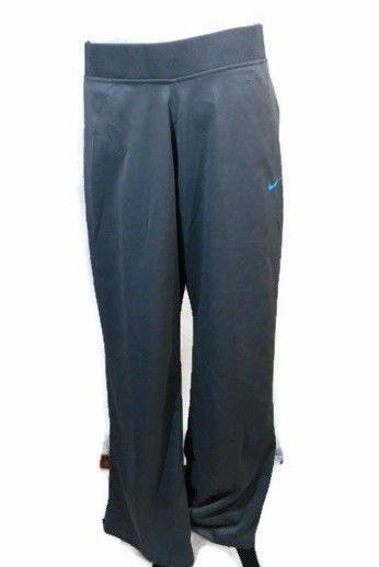 Women's Nike Dry Fit Pants Size Large Gray Basketball Training Athletic New  #Nike #PantsTightsLeggings