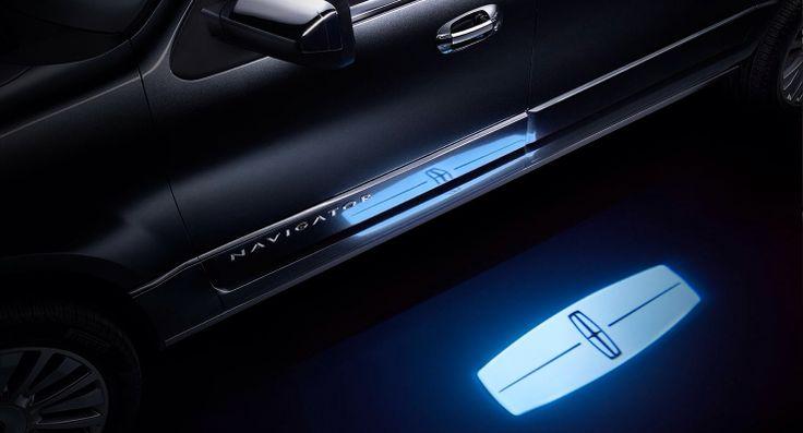 2015 Lincoln Navigator Welcome Mat Led Car Lights