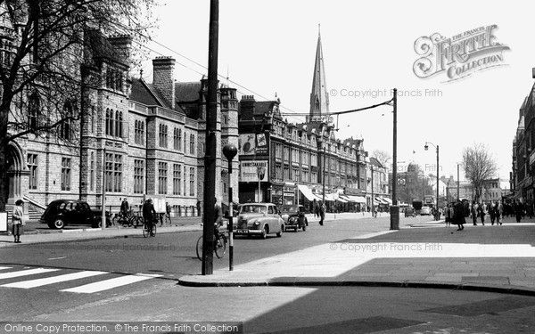 Ealing, Town Hall And Broadway c.1955, from Francis Frith