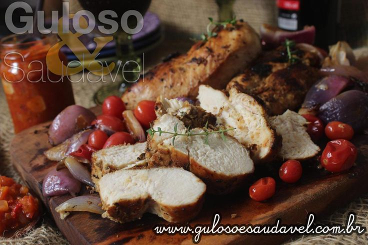 Receita de Peito de Frango Grelhado com Chutney de Tomate
