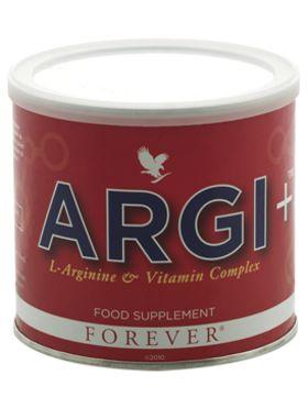 Argi+ er et innovativt kosttilskud udviklet specielt til dig, som lever et aktivt liv. Indeholder aminosyren L-arginin samt en juice- og frugtekstraktmix fra frugter og bær, blandt andet blåbær, hindbær, vindruer og granatæble. Giver dig desuden den daglige dosis af vitaminerne C, D, B6, B12 og folsyre.  Shop - Aloevera Portal Danmark http://webshop.aloeveraportal.dk eller http://online-aloevera.dk