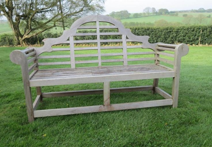 Vintage Lutyens Garden Bench for sale on SalvoWEB from UK Architectural Antiques in Staffordshire [Salvo code #discoversalvage