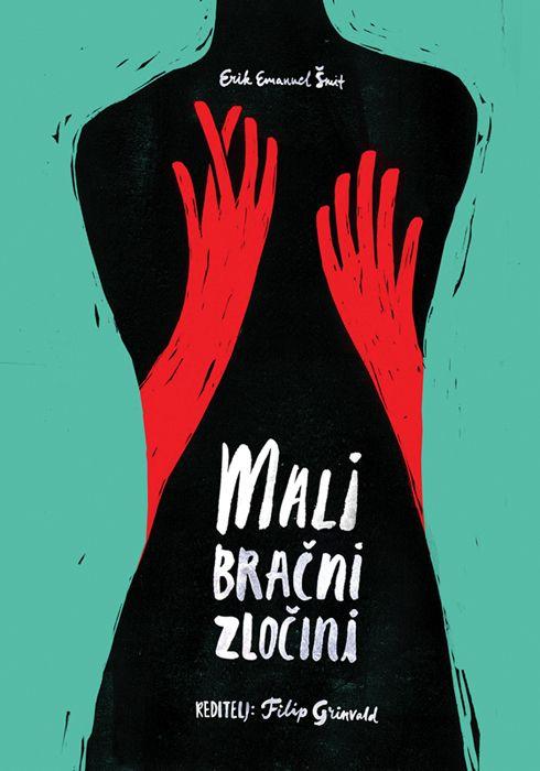 Theatre posters by Tamara Pešić, via Behance