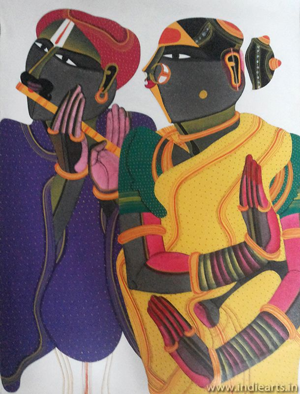 Art is one of the best Indian Artist THOTA VAIKUNTAM