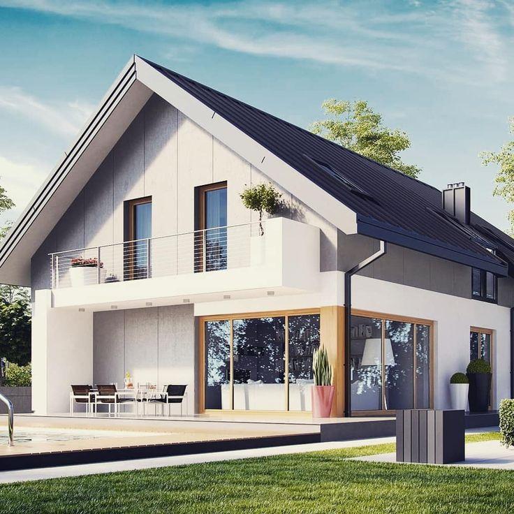 умение держать дома с двухскатной крышей фото и проект понимаю, написать своё