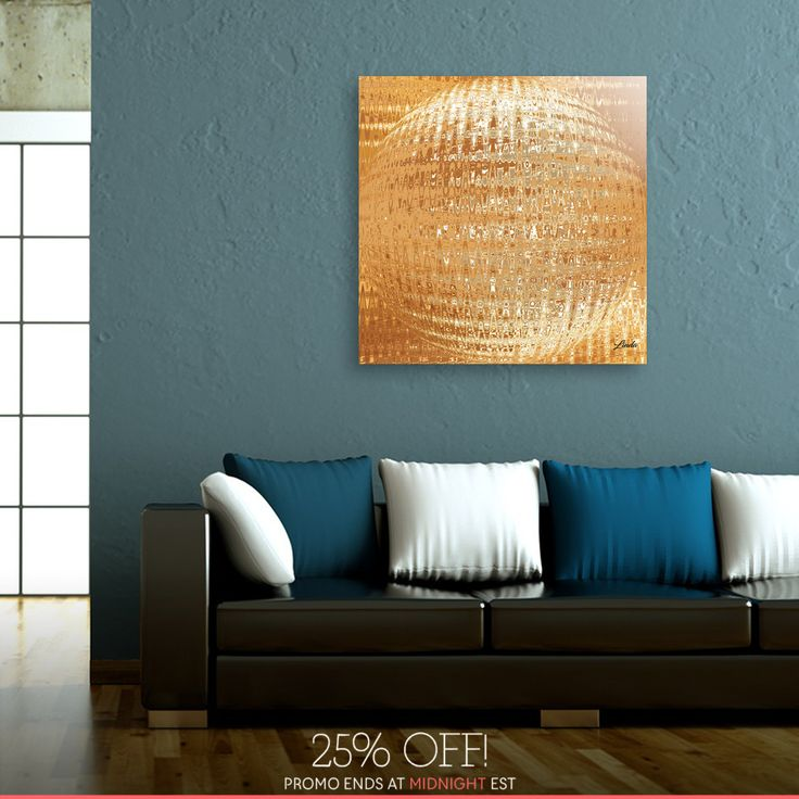 Discover «Golden Ball», Exclusive Edition Acrylic Glass Print by Linda Millar - From $85 - Curioos