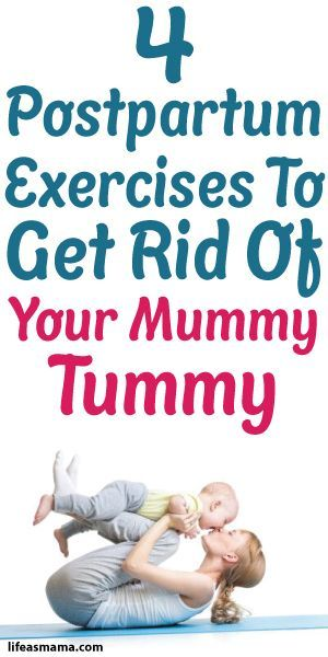 how to get rid of my mummy tummy