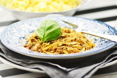 Mit Ingwer wird dieses wärmende Gericht aus der 5 Elemente Küche noch bekömmlicher. Faschiertes mit Weißkohl schmeckt besonders im Winter.