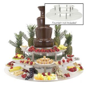 Chocolate Fountain Display Riser | Wayfair