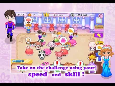 Help Cuby and his friends restore the legendary Cinderella Cafe to its former glory! Take on the challenge using your speed, skill, and quick thinking, and bring back what Cinderella Cafe was best known for — great food and fast, quality service!
