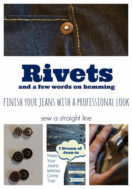 I Dream of Jean-ie: Mastering Rivets