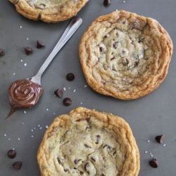 ... chip cookies nutella cookies two peas nutella stuffed chocolate chip