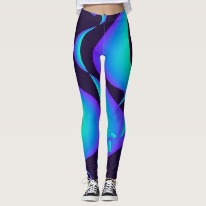 Curvey Curves Active Workout Fitness Yoga Sports Leggings - retro clothing outfits vintage style custom
