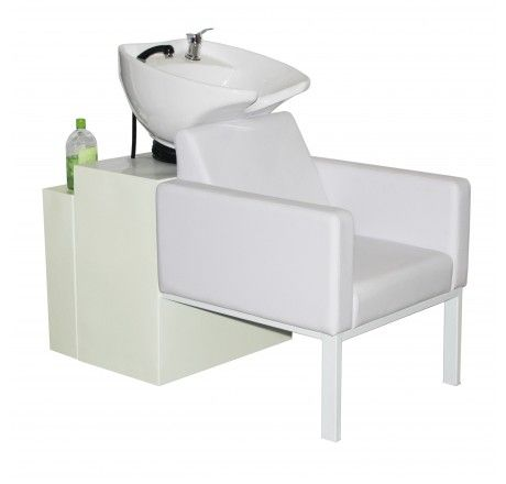 Salon Furniture  Deco Piazza Shampoo Chair Station   White White. 34 best images about Salon Shampoo Stations on Pinterest