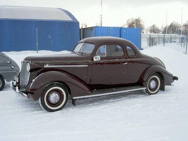 Gus Machado Ford Hialeah >> Nash 1937 3722-R 2d Coupe´ Rumble Seat | Nash and Rambler Cars by Kent | Pinterest | 2d