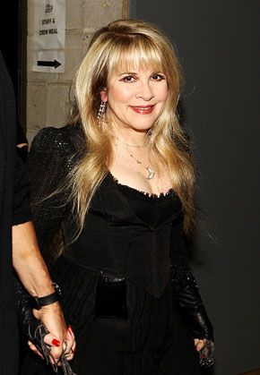 Stevie Nicks:  Music legend Stevie Nicks, 63, (her latest album, In Your Dreams, is out now)