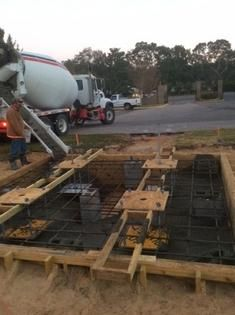 Construction crews pour foundation for Tribute Tower - News - Northwest Florida Daily News - Fort Walton Beach, FL
