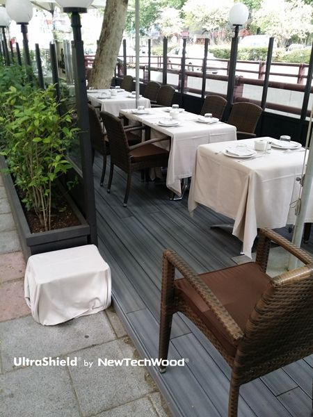 UltraShield Composite Deck Terraza Bilbao, please visit www.newtechwood.com for more information.