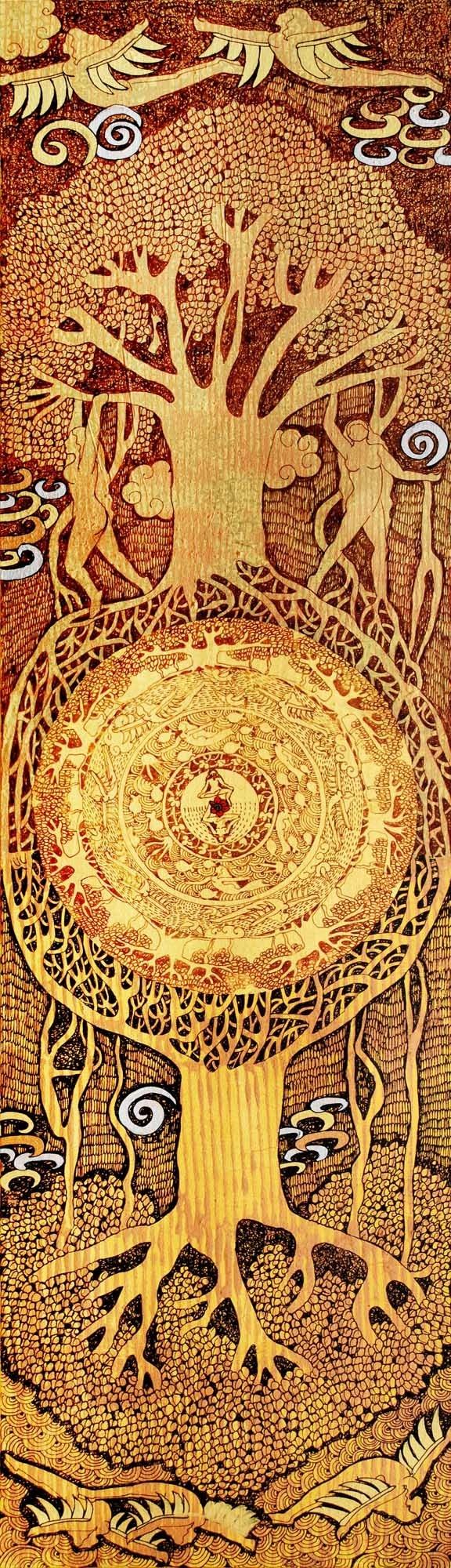 Tree of Life Series by Seema Kohli