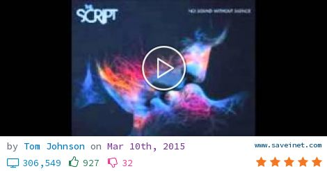 The Script No Sound Without Silence Full Album