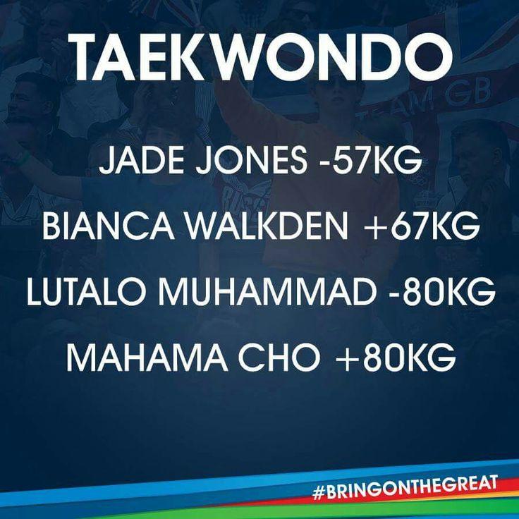 Taekwondo - Team GB Rio 2016