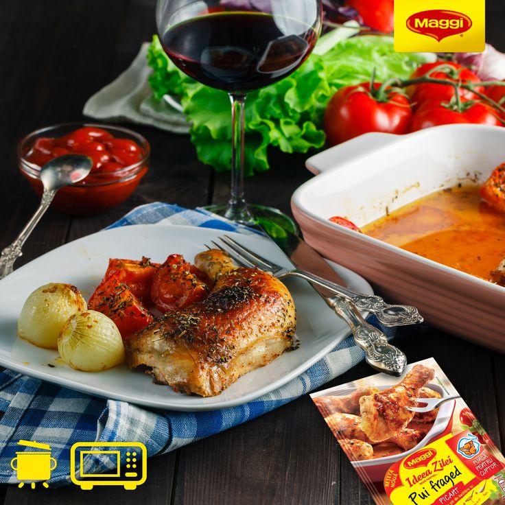 O portie de pulpe picante cu sos de rosii poate fi rasfatul perfect pentru o dupa-amiaza linistita de toamna, alaturi de filmul preferat. https://www.maggi.ro/pulpe-fragede