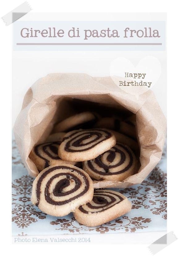 Nella cucina di Ely: Girelle di pasta frolla per un buon compleanno...