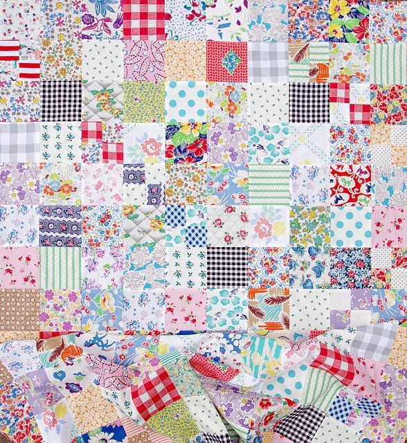 1000+ Images About Feedsack Quilts On Pinterest