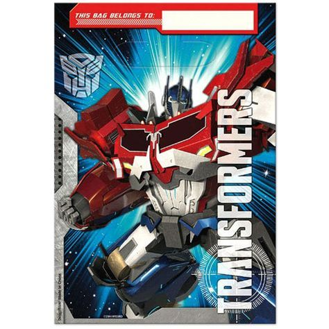 Transformers Party Favor Bags - 8 ct