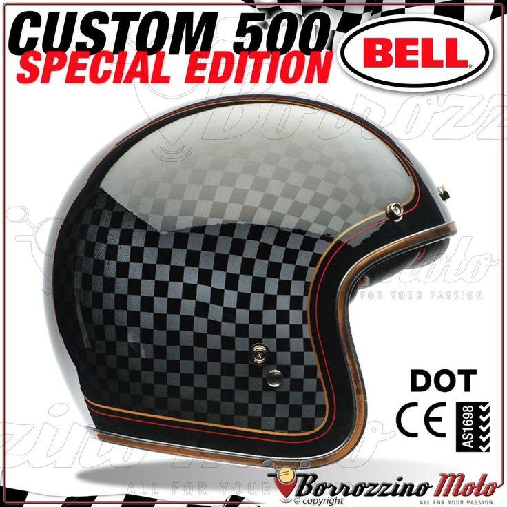 JET HELM MOTORRAD BELL CUSTOM 500 VINTAGE CHOPPER HARLEY SPECIAL RSD CHECKIT XL
