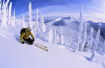 Whitewater Ski Resort, Nelson B.C. Canada - One of the best ski resorts I've ever ridden!
