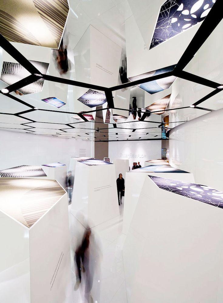 Mirror ceiling installation. #art #installation