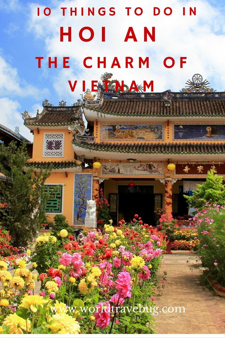 """Hoi An is not your typical sightseeing town. There are no big sights to """"tick off"""" your list. It is a town to take in, relax and enjoy. And here what to do there"""