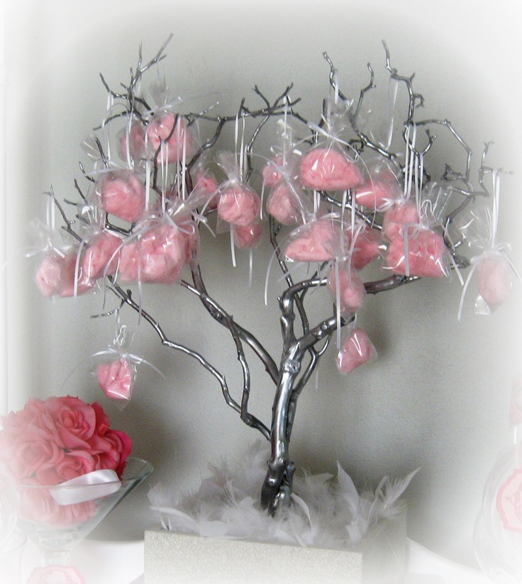 Cotton Candy tree.  I like it in bags better than stuck on the branches.  I would make the cotton candy in fall colors.