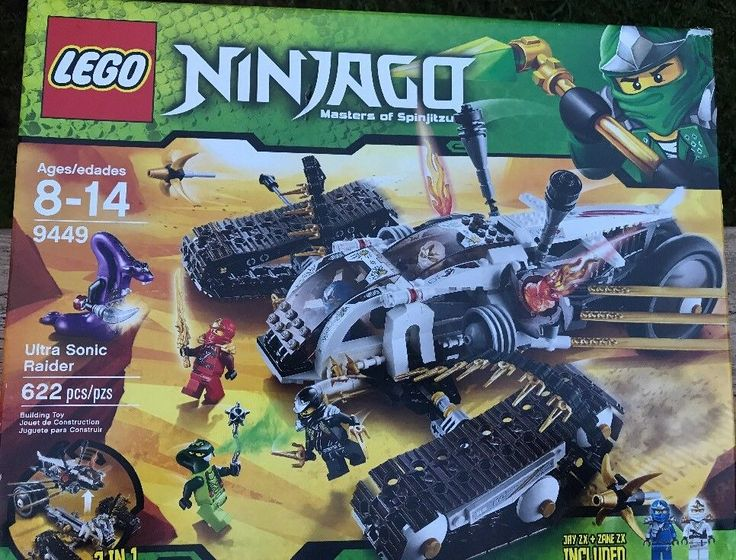 Lego Ninjago Ultra Sonic Raider (avec images) | Jouet