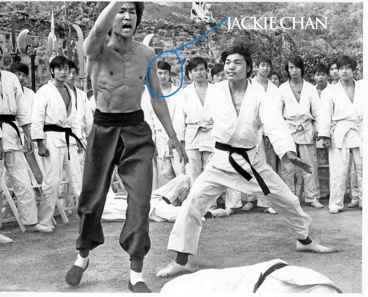 jackie chan and bruce lee wwwpixsharkcom images